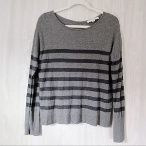 LOFT Lightweight Gray Sweater